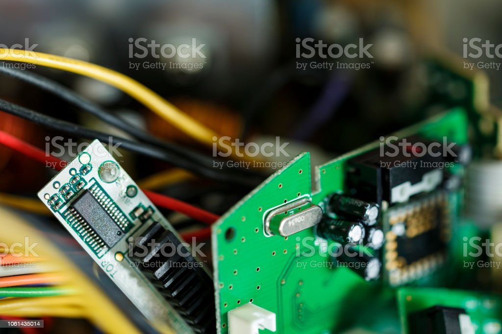 Technology hardware stock photo