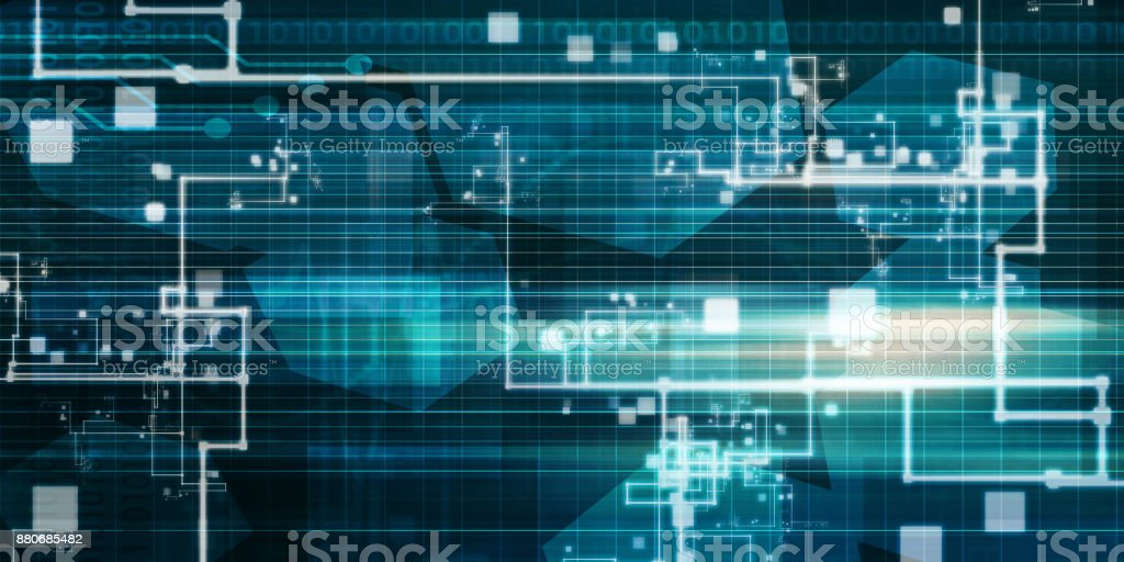 Technology Infrastructure stock photo
