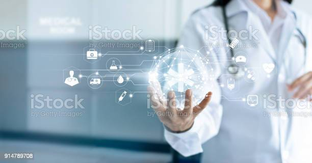 Technology innovation and medicine concept doctor and medical network picture id914789708?b=1&k=6&m=914789708&s=612x612&h=j8igrhn9yi66z7mluftmyhffqynemznvqrsylcn 7ra=