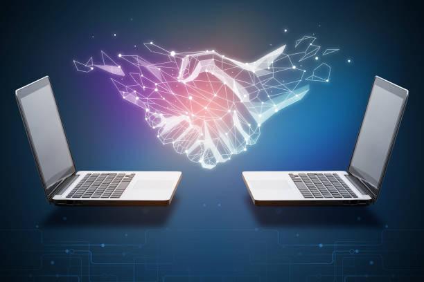 Technologie, Innovation und Teamwork Konzept – Foto