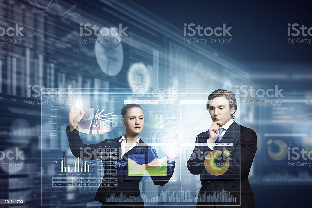Technology innovations stock photo