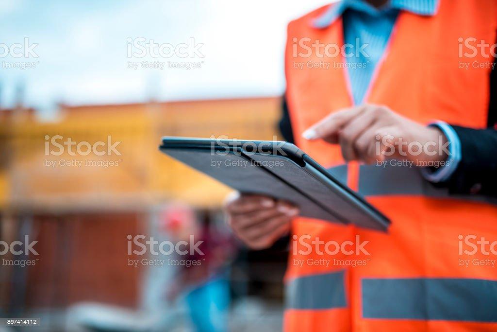 Technologie ist auch Teil der Bauwirtschaft – Foto