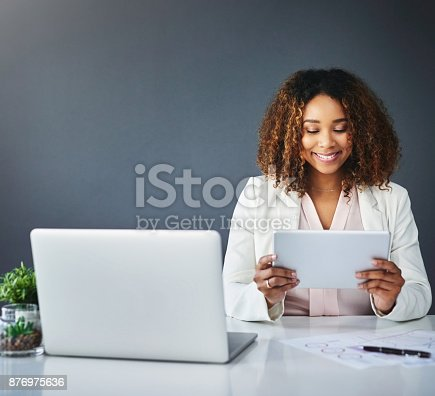 istock Technology is here to help my company 876975636