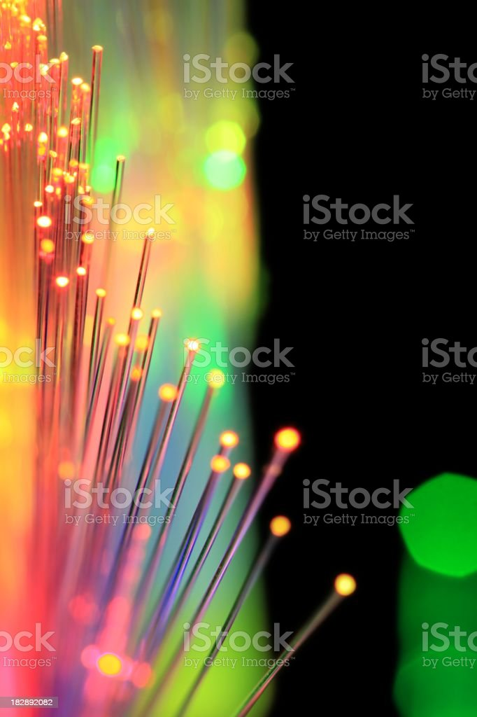 Technology Lights stock photo