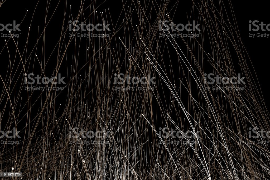 Technology lines, the future of science and technology stock photo