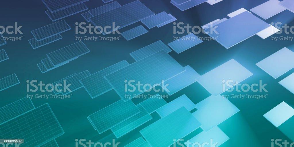 Technology Network stock photo
