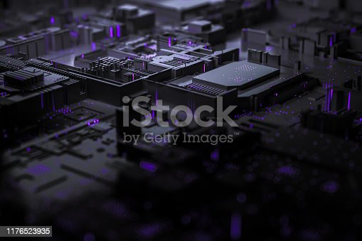istock Technology networks board background 1176523935
