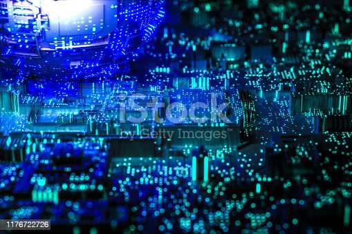 istock Technology networks board background 1176722726