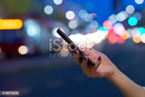 622971132istockphoto Technology night 519370026