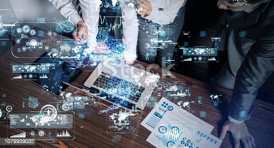 861122560 istock photo Technology of business concept. 1079939032