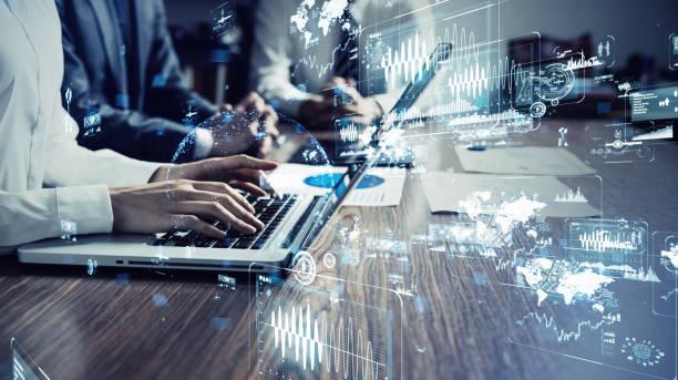 Technologie der Geschäftsidee. – Foto