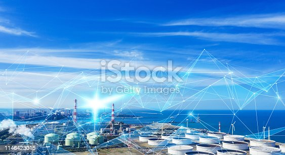 istock Technology of industry concept. IoT (Internet of Things). INDUSTRY4.0 1146423015