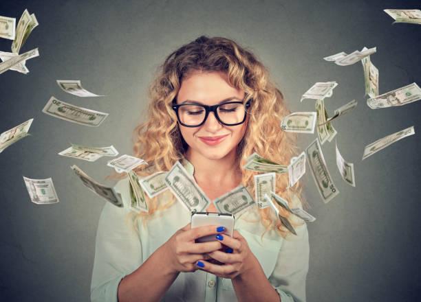 online-banking geld technologietransfer, e-commerce konzept - free online game stock-fotos und bilder