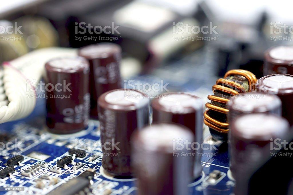 Technology parts royalty-free stock photo