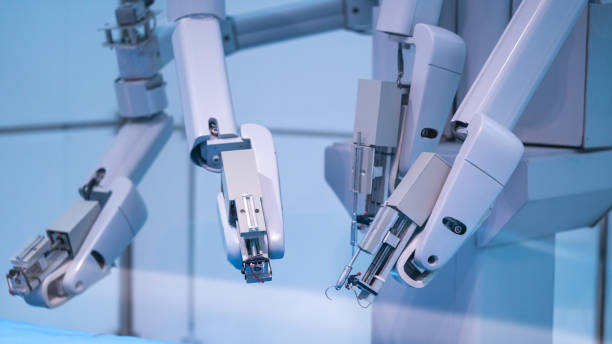 Technology Photo Robotics For Medical Technology Solution neuroscience patient stock pictures, royalty-free photos & images