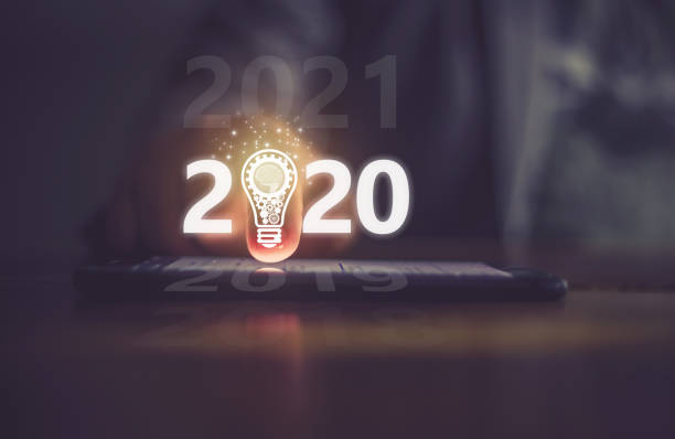 technology - new years day stock pictures, royalty-free photos & images