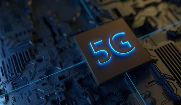 5G Technology stock photo