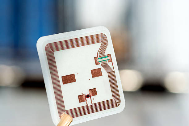 RFID technology RFID tag radio frequency identification stock pictures, royalty-free photos & images