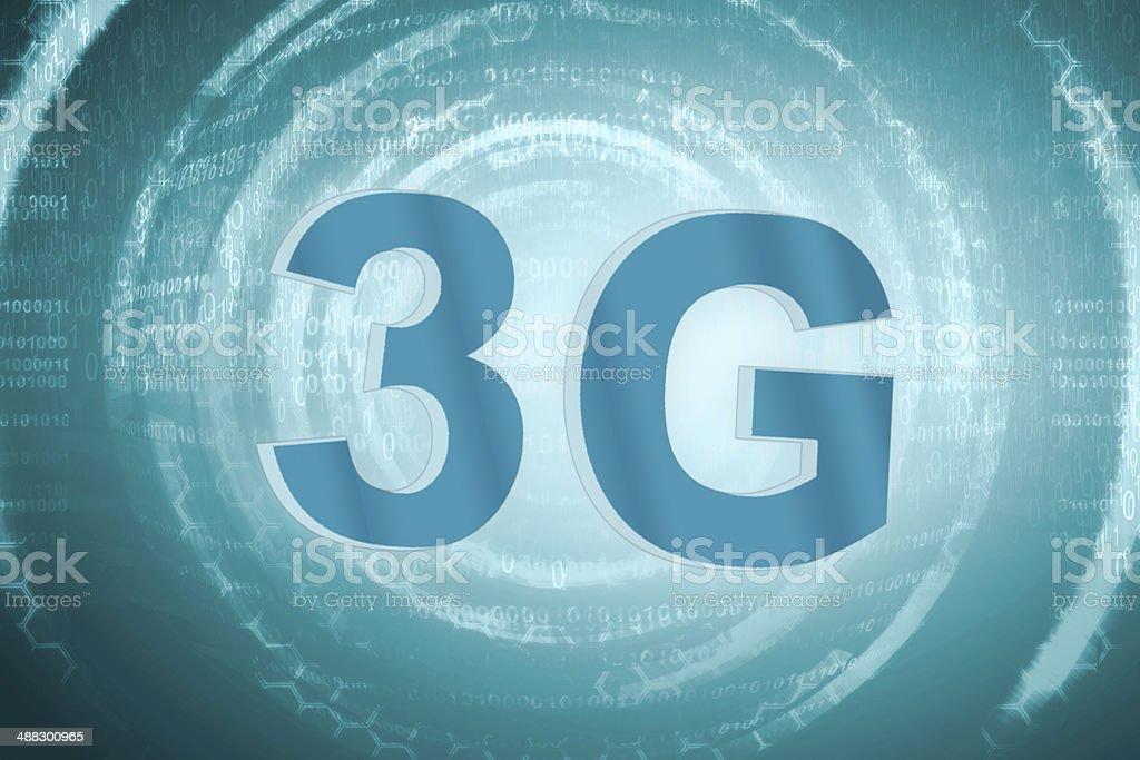 3G technology stock photo
