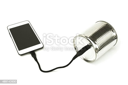 Can phone and smartphone