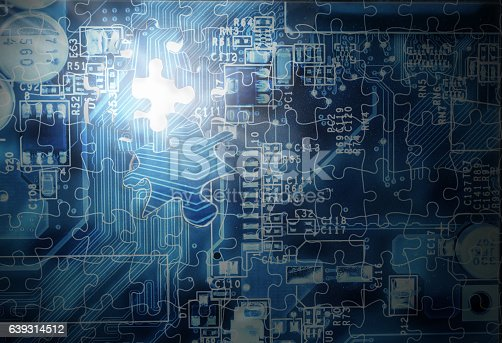 istock Technology puzzle concept 639314512