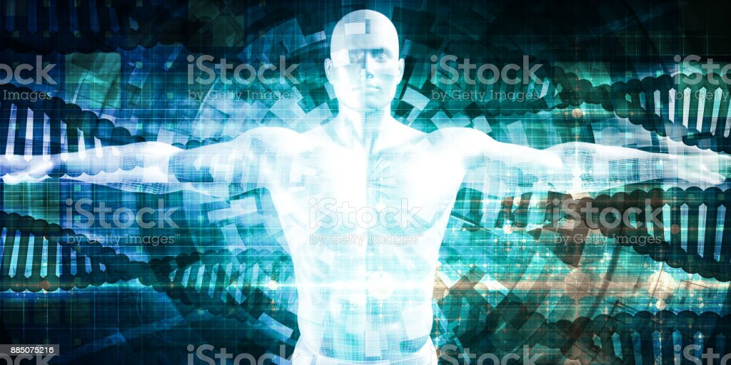 Technology Science stock photo