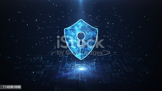 istock Technology Security Concept. 1145361636