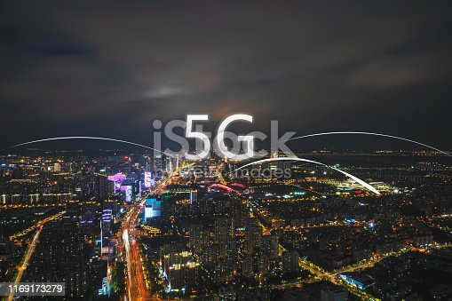 1013558568 istock photo Technology smart city concept background 1169173279