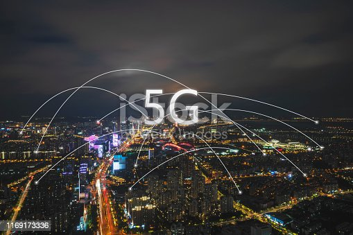 1013558568 istock photo Technology smart city concept background 1169173336