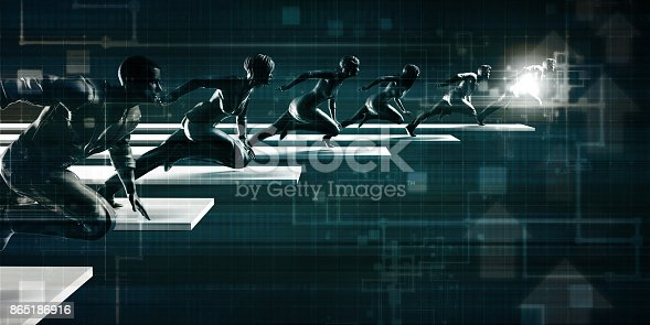 865186916 istock photo Technology Solutions 865186916