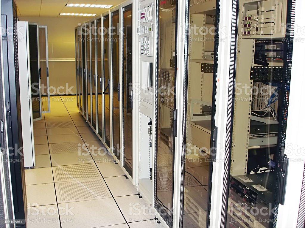 Technology Storage Cabinets stock photo