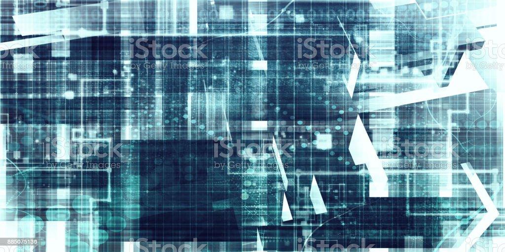 Technology Texture Background stock photo