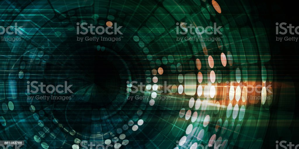 Technology Tracking System stock photo