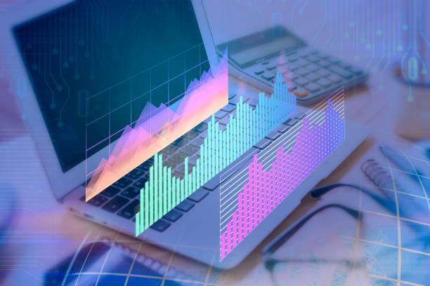 Messtechnischen und Finanzen Konzept – Foto