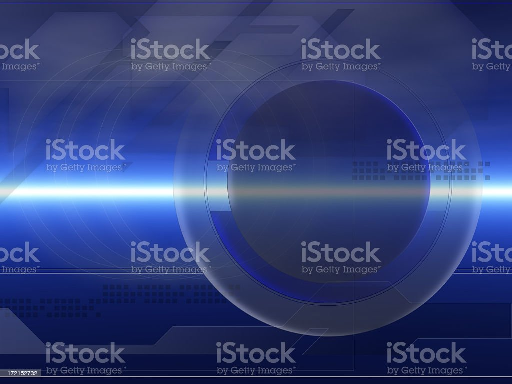 Techy Blue Background Abstract royalty-free stock photo