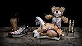 Teddy als Doktor