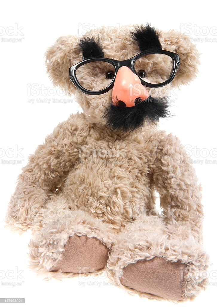 Teddy Bear Comedian stock photo