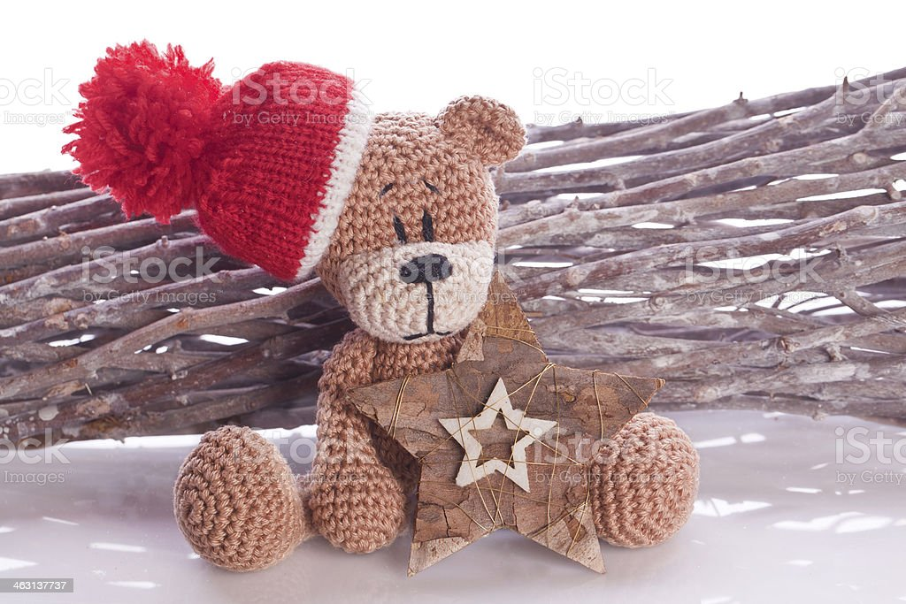 CROCHET PATTERN CHILDRENS TEDDY BEAR ANIMAL SCARF 45 INCHES MINUS ... | 683x1024