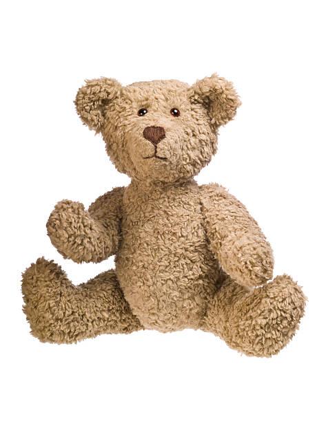 teddy bear sitting - teddy bear stock photos and pictures