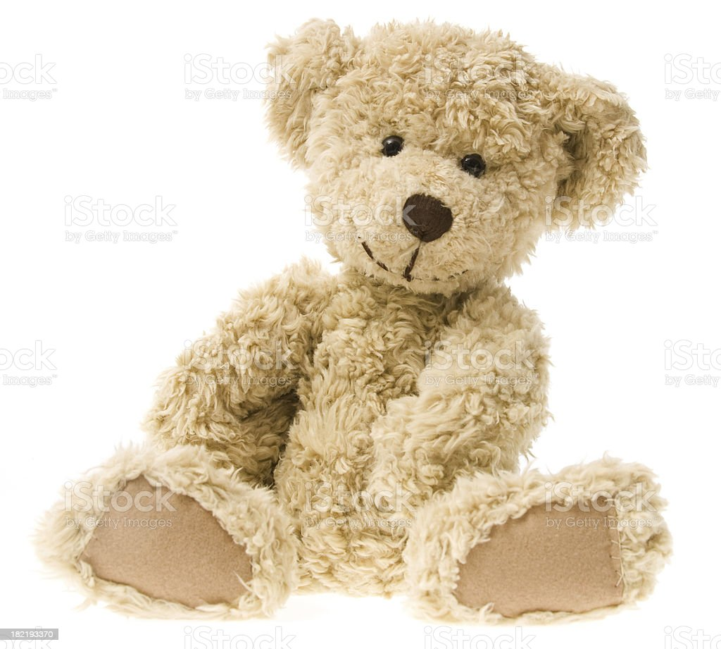 Teddy Bear Smiling stock photo
