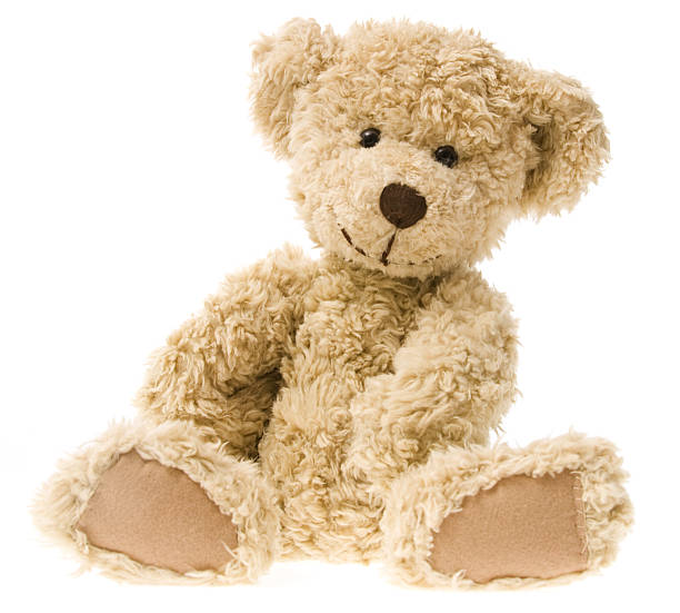 teddy bear smiling - teddy bear stock photos and pictures