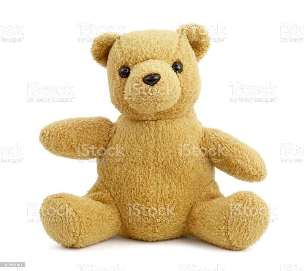 teddy bear toy childhood stock photo