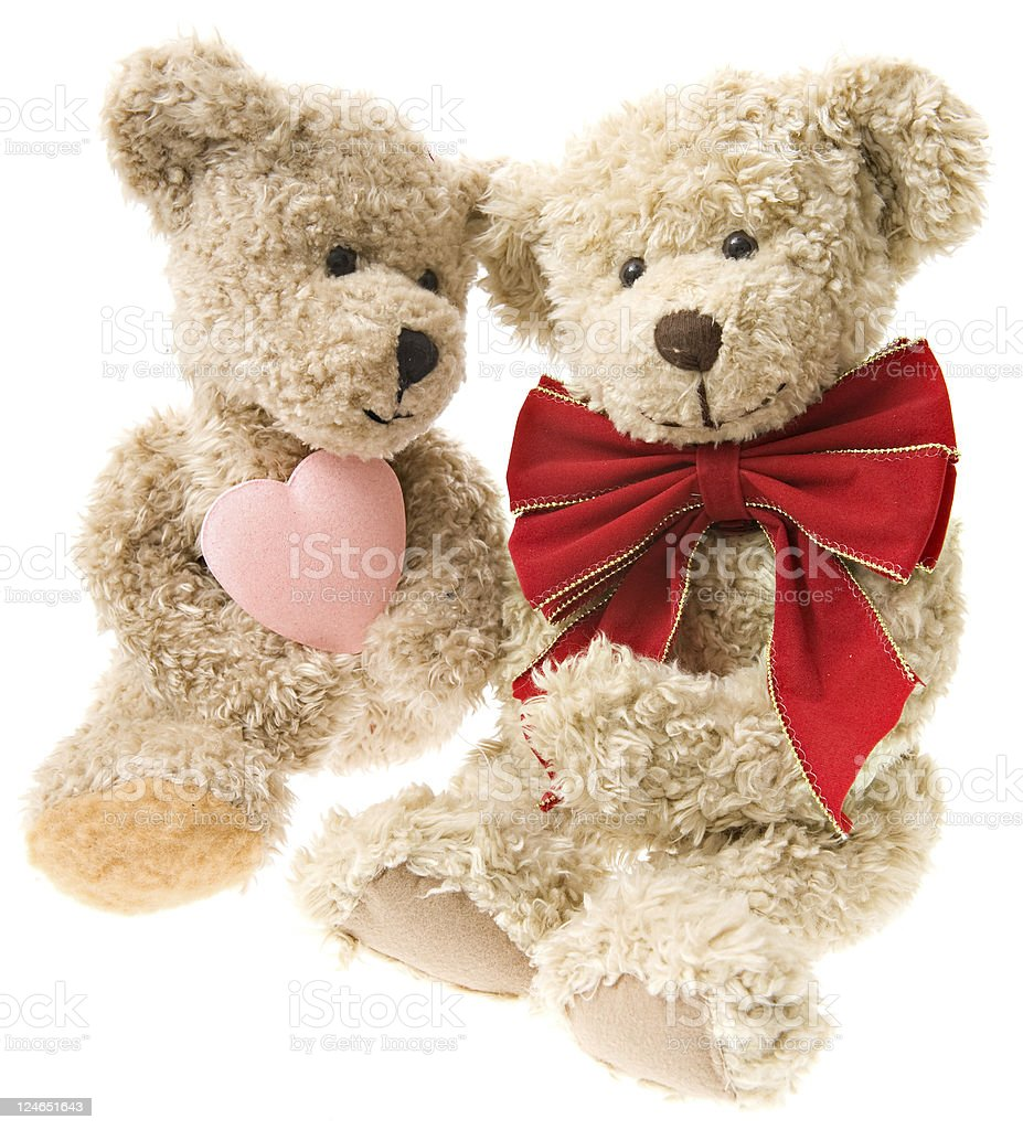 Teddy Bear Valentines royalty-free stock photo