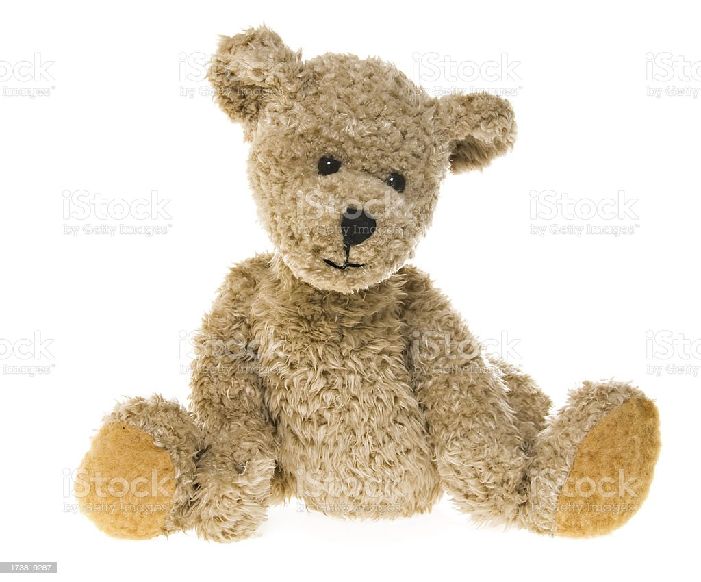 Teddy Bear Waiting stock photo