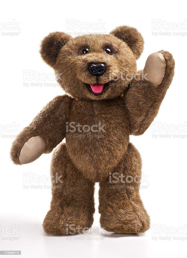 Teddy Bear Waves royalty-free stock photo