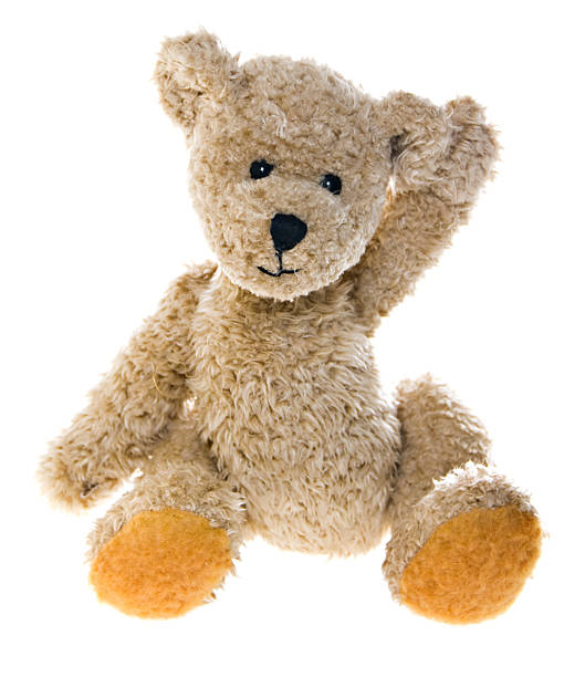 "Teddy Bear Waving ""The same teddy bear is available in multiple, playful settings. For more cool and cute teddies please check my Teddy Bear Lightbox."" teddy bear stock pictures, royalty-free photos & images"
