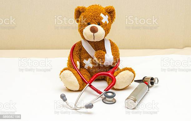 Teddy bear with bandages in pediatricians office picture id589582156?b=1&k=6&m=589582156&s=612x612&h=8gkdkevsrppdod7hhmseibxc1bvddsgosxigpn5rina=