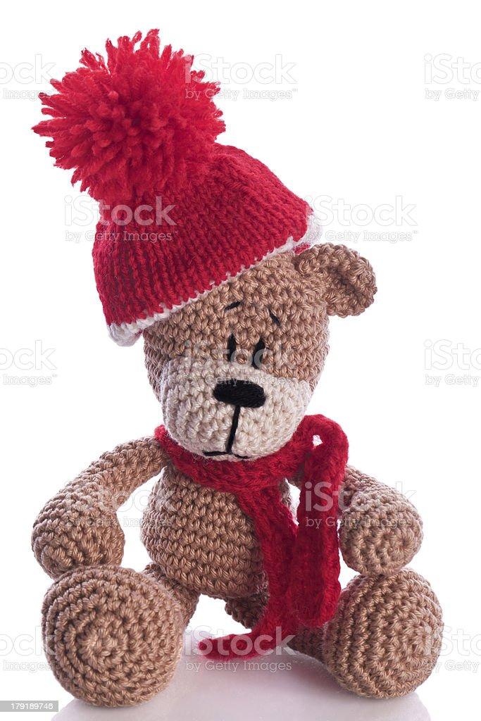 Urso Amigurumi com cachecol, confeccionado com fio amigurumi da ... | 1024x683