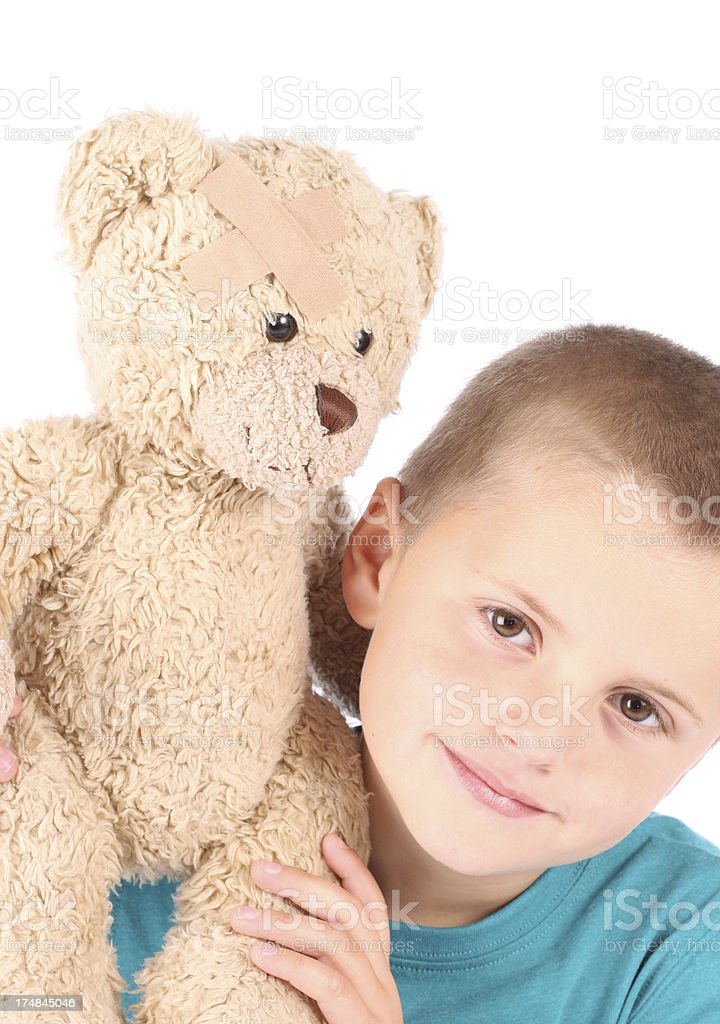 Teddy Love royalty-free stock photo