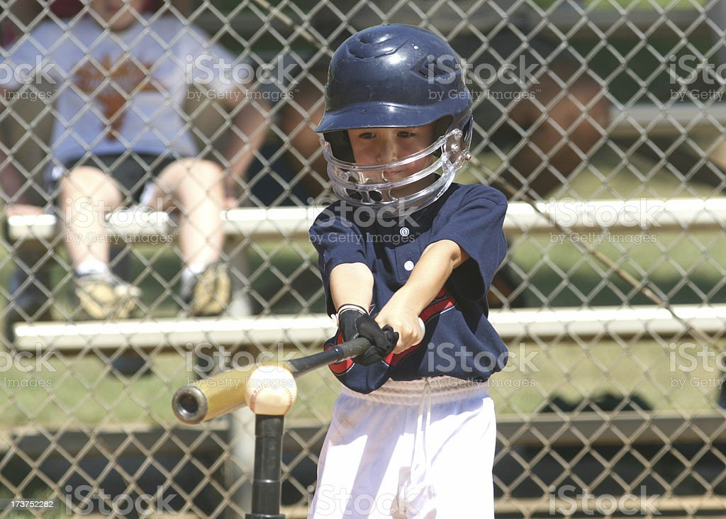 Tee Ball player royalty-free stock photo